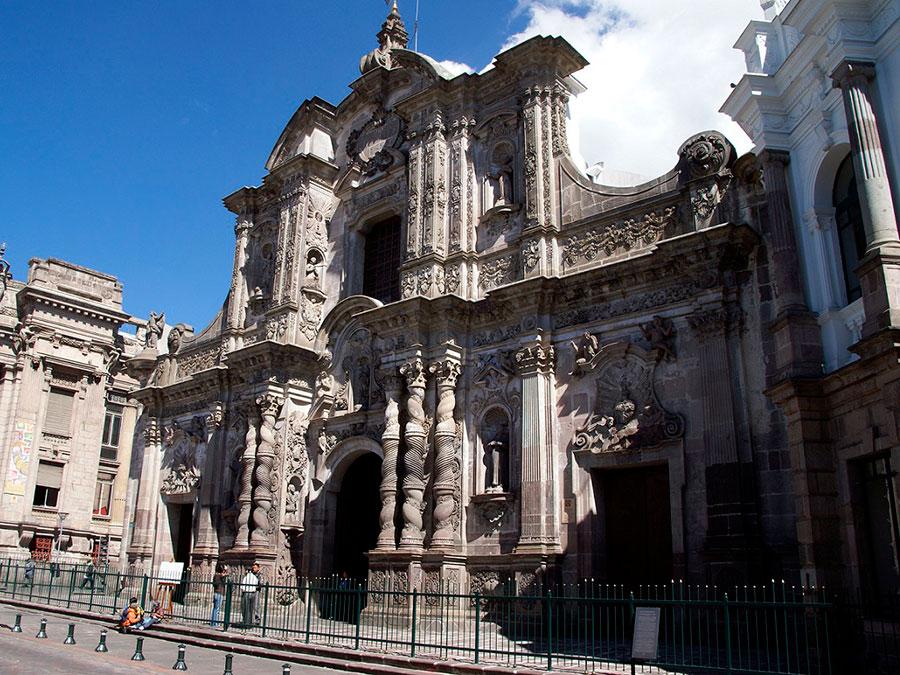 Iglesia de la Compania Quito
