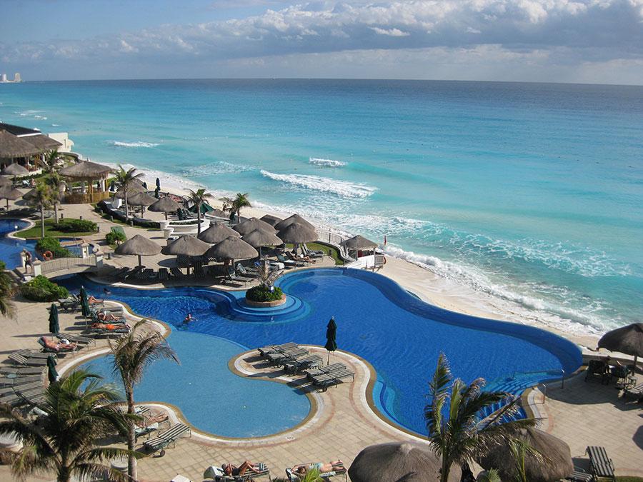 Piscinas en Cancun