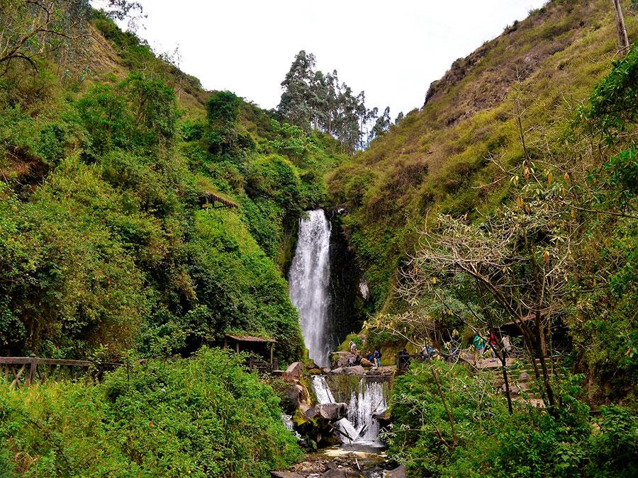 Peguche Waterfalls