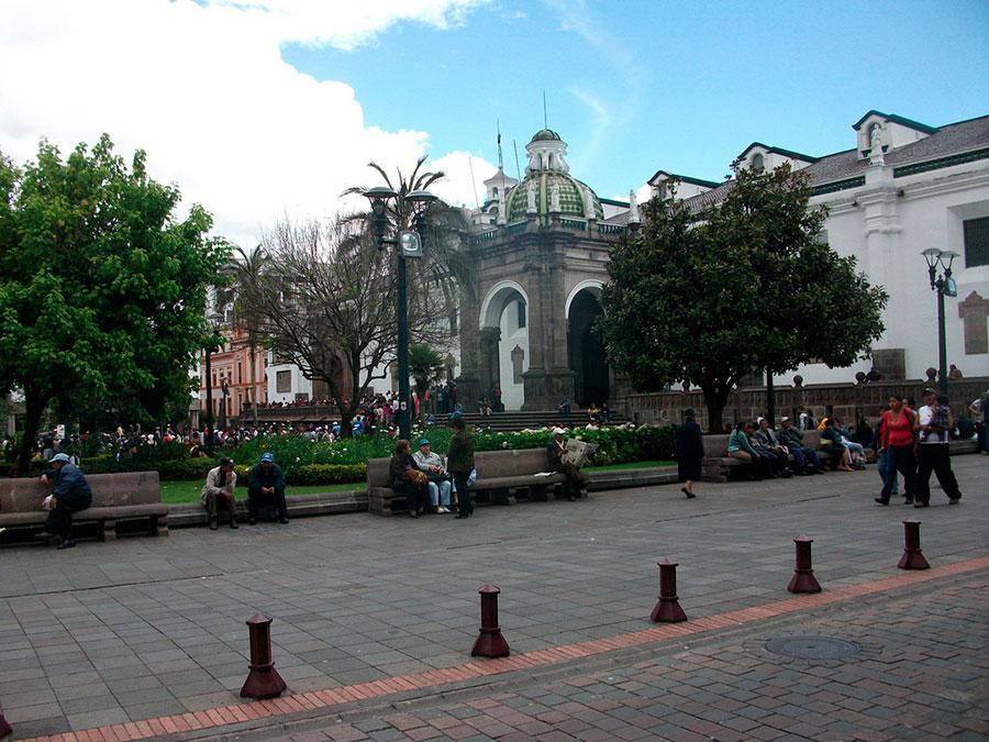 historic center Quito