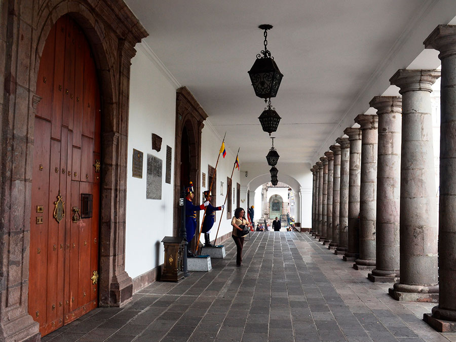 government palace Quito