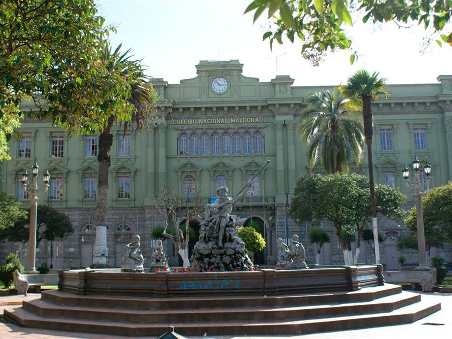 Parque Neptuno Riobamba