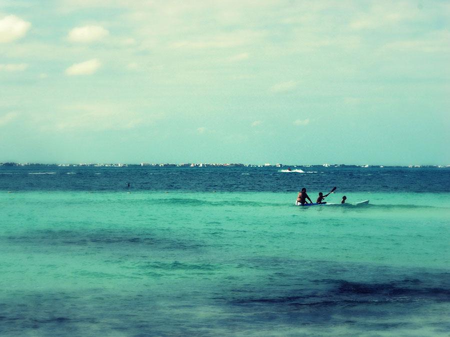 Playa en Cancun