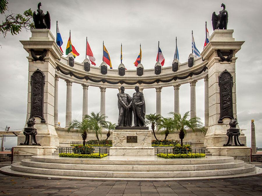 Monumento Simón Bolivar y San Martin